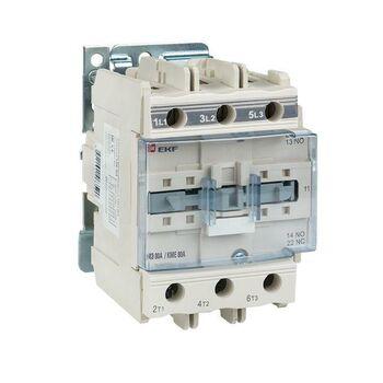 Контактор КМЭ 80А 220В NO+NC EKF ctr-s-80-220