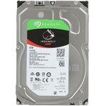 """Seagate Ironwolf ST6000VN001 Жесткий диск 6TB SATA 6 Гбит/с, 7200 rpm, 256mb buffer, 3.5"""",для NAS"""