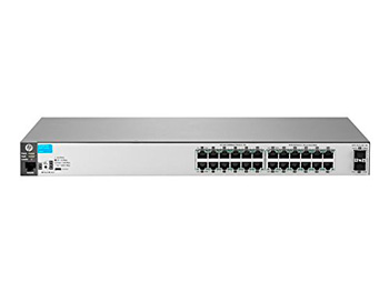 "HP J9856A#ABB 2530-24G-2SFP+ Коммутатор (24 x 10/100/1000 + 2 x SFP+, Managed, L2, virtual stacking, 19"")"