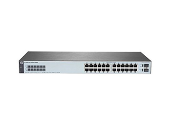 HP J9980A#ABB 1820-24G Коммутатор (24 ports 10/100/1000 + 2 SFP, WEB-managed, fanless) (repl. for J9803A)