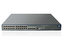 HP JE074A#ABB 5120-24G SI Коммутатор (20x10/100/1000 + 4x10/100/1000 or SFP, Managed static L3, 19