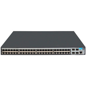 HP JG928A#ABB 1920-48G-PoE+ (370W) Коммутатор (48x10/100/1000 PoE+ + 4xSFP, Web-managed, static routing, 19