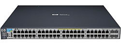 HP J9148A#ABB 2910-48G-PoE+ al Коммутатор (44 ports 10/100/1000 PoE+, 4 10/100/1000 PoE+ or SFP, 4 10-GbE opt., Managed, Layer 3 static, Stackable 19