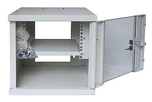 Шкаф телекоммуникационный настенный 4U Cabeus