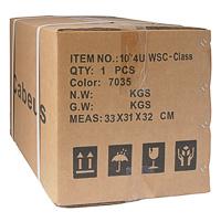 Шкаф телекоммуникационный настенный 4U Cabeus в упаковке.