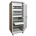 Mонтажный шкаф Cabeus<br />Пример размещения оборудования.