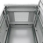 Mонтажный шкаф Cabeus<br />Крыша оснащена кабельным щеточным вводом<br>Активная (принудительная) вентиляция заказывается дополнительно.