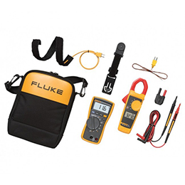 Fluke 116/323 HVAC Combo Kit-Includes Multimeter and Clamp Meter