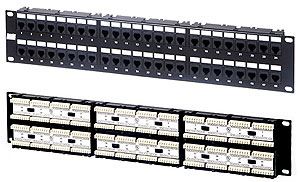 Hyperline PP-19-48-6P4C-C2 Патч-панель 19