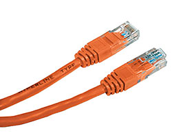 Hyperline PC-LPM-UTP-RJ45-RJ45-C5e-1M-LSZH-OR Патч-корд U/UTP, Cat.5е, LSZH, 1 м, оранжевый