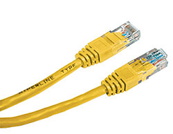 Hyperline PC-LPM-UTP-RJ45-RJ45-C5e-1M-LSZH-YL Патч-корд U/UTP, Cat.5е, LSZH, 1 м, желтый