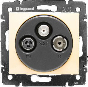 LEGRAND 770410 ������ ������� TV/R/SAT ������, �����, Valena