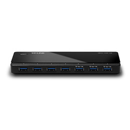 TP-Link UH700 7 ports USB 3.0 Hub,Desktop, a 12V/2.5A Power Adapter included