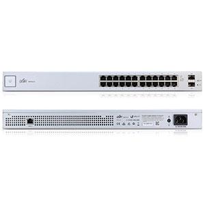 Коммутатор в стойку, 2х SFP, 24х Gigabit Ethernet